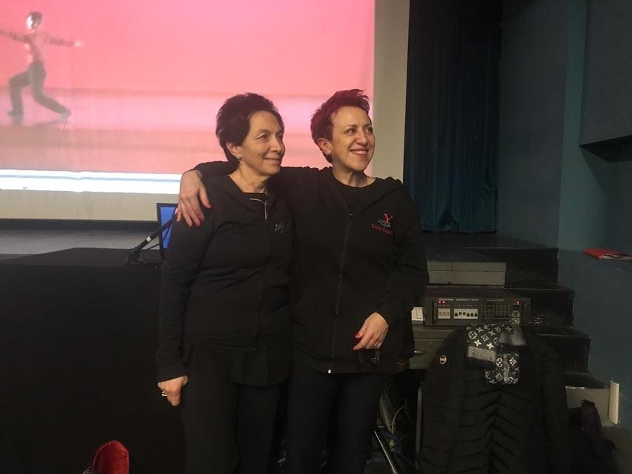 Conferenza sulla danza jazz , Teatro Nuovo di Torino, febbraio 2019
